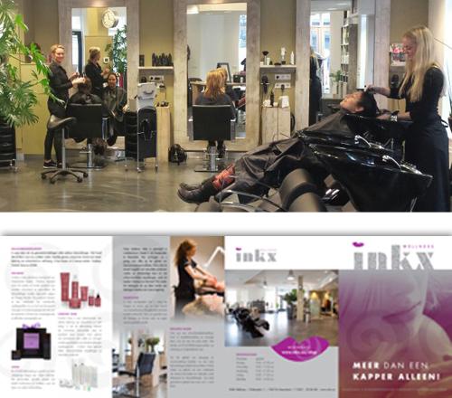 Wellness zaak en kapsalan INKX in Heemskerk